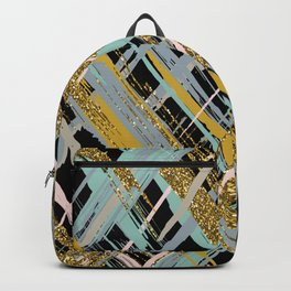 Criss Cross Glitter Backpack
