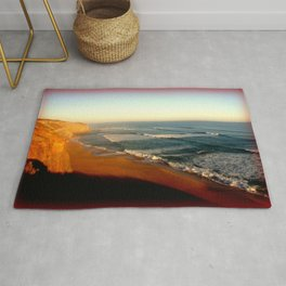 Sunsets on the Great Southern Ocean Rug