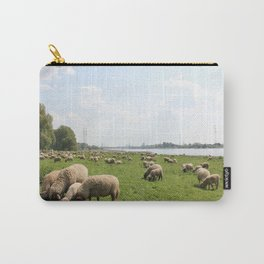 Grazing Sheep by the Rhine Carry-All Pouch