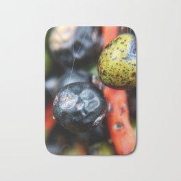 Colorful berries Bath Mat