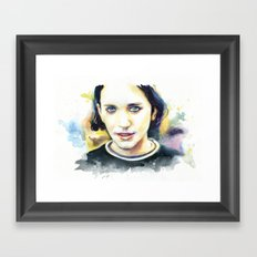 Stay high (Brian Molko) Framed Art Print