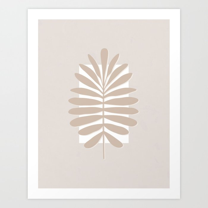 Tropical Leaves Art Print