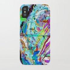 Laughter Lines // Bastille iPhone X Slim Case