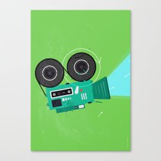 Video Canvas Print