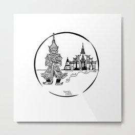 Bankok  Metal Print