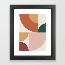 Abstract Geometric 13 Framed Art Print