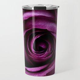 Aubergine Rose Travel Mug