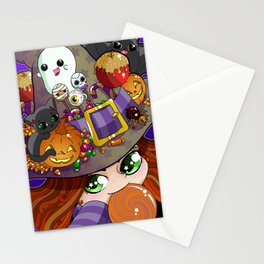 Candy Witch Stationery Cards