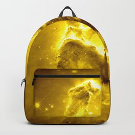 Yellow neBUla Pillars of Creation Backpack