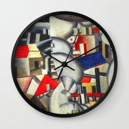 Fernand Leger Smoke Wall Clock