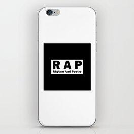 RAP iPhone Skin