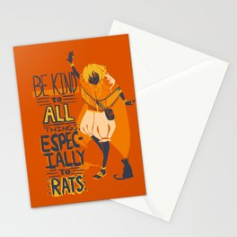 Ozymandias, King of Rats - Be Kind Stationery Cards