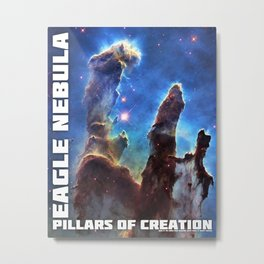 Pillars of Creation Metal Print
