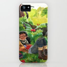 Fall Nap iPhone Case