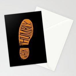Walk Humbly Stationery Cards