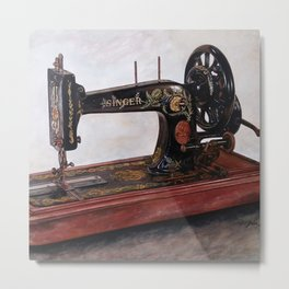 The machine IV Metal Print