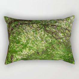 Spring path Rectangular Pillow