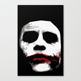 Why So Serious? Canvas Print