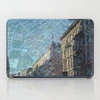 vienna iPad Cases featuring Vienna on Maps by MehrFarbeimLeben
