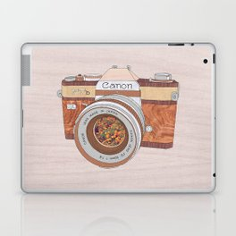 WOOD CAN0N Laptop & iPad Skin