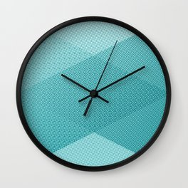 COOL HALFTONE Wall Clock
