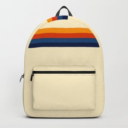 Retro Stripes Summer of Love Backpack