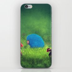 Blue Pet! iPhone & iPod Skin