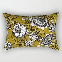 Khaki Garden Rectangular Pillow