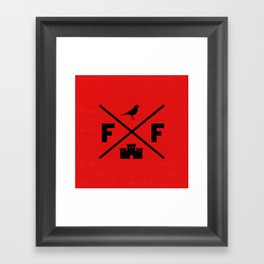Logomark Framed Art Print