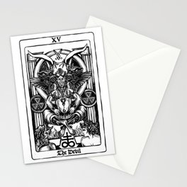 The Devil Tarot Stationery Cards