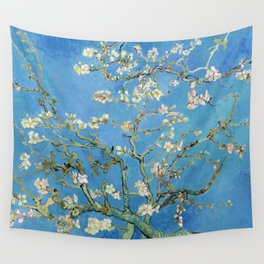 Vintage Vincent Van Gogh Almond Blossoms Wall Tapestry