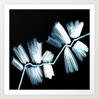neon Art Prints featuring Neon by LinnaDesign