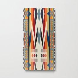 American Native Pattern No. 214 Metal Print