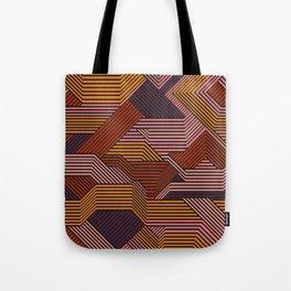 Dizzy Geometry Tote Bag