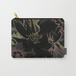 Flower bouquet...Neon Carry-All Pouch