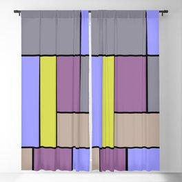 Mondrian #54 Blackout Curtain