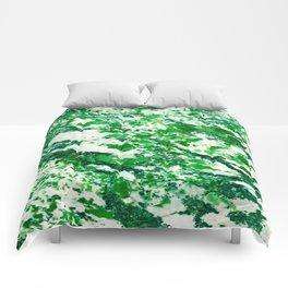 Speckled Emerald Comforters
