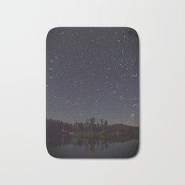 Star Trails Bath Mat