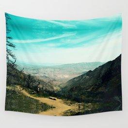Laguna Mars Mountains Wall Tapestry