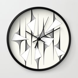 Triangle Valley Wall Clock