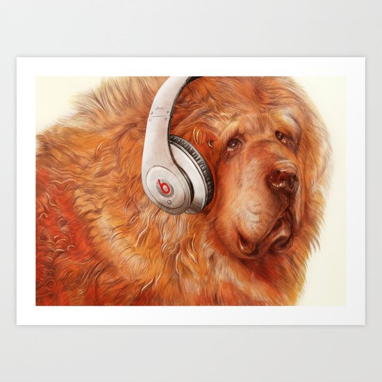 Music Therapy Art Print