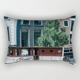 A Day in Amsterdam Rectangular Pillow