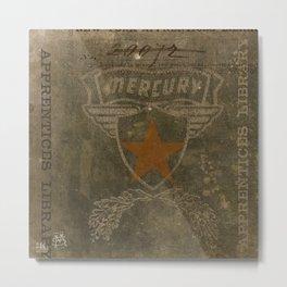 HMK Mercury Star Metal Print
