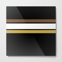 Team Colors 2... caramel, brown Metal Print