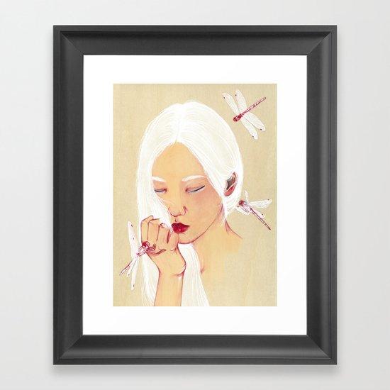 Flawless Framed Art Print