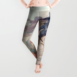 The Lost Love of Wandering Aengus Leggings