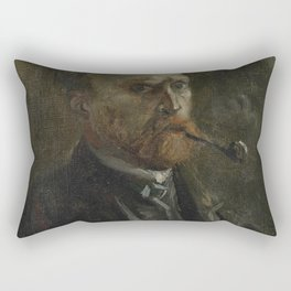 Selfportrait Rectangular Pillow