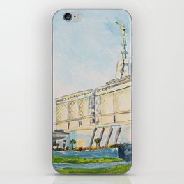 Mexico City DF LDS Temple iPhone Skin