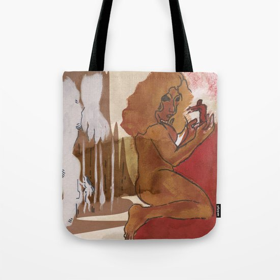 """""""Love This Giant"""" by Virgina McCarthy Tote Bag"""