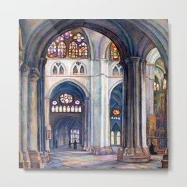 Samuel Halpert Toledo Cathedral Metal Print